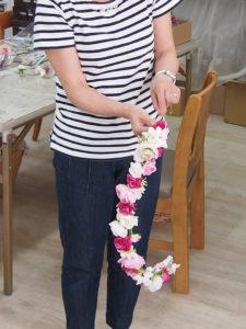 新婦の母の手作り花冠 / アーティフィシャル